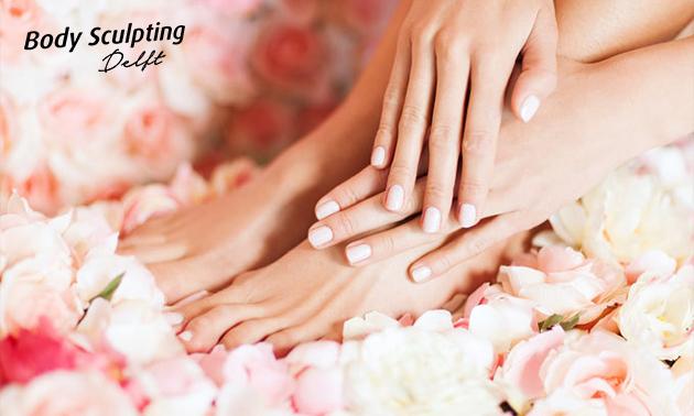 Pedicurebehandeling + nagellak of BIAB-behandeling