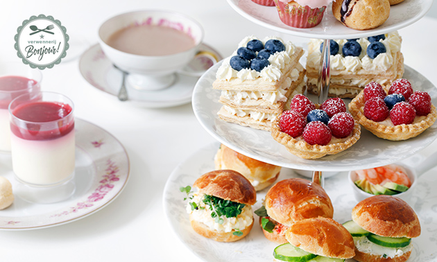 Luxe high tea