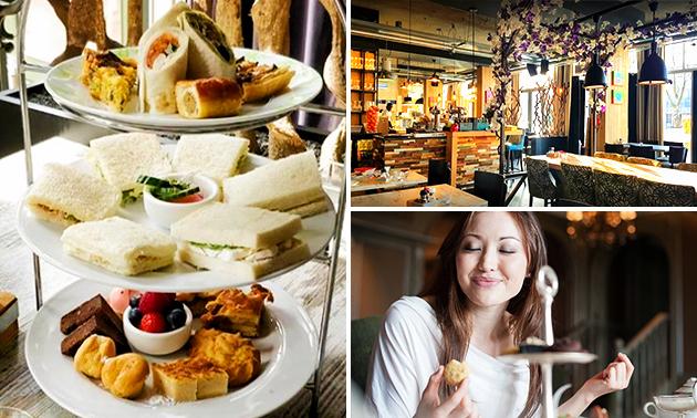 Afhalen: high tea bij Brasserie Bloem