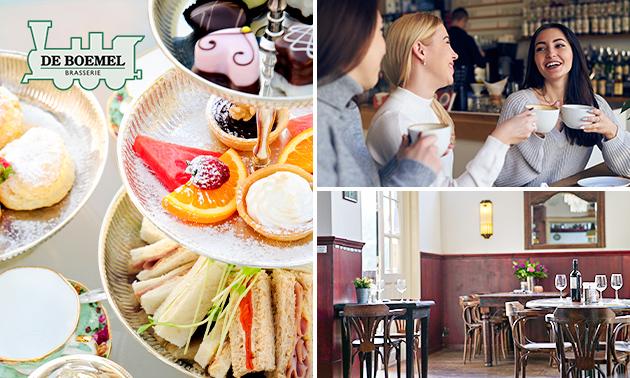 High tea bij Brasserie de Boemel