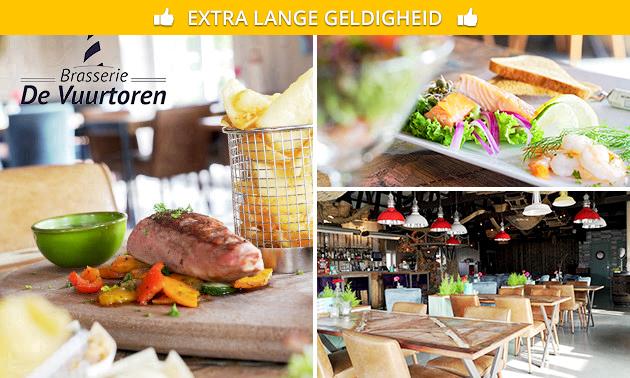 Shared dining bij Brasserie De Vuurtoren