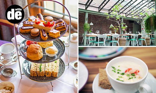 Thuisbezorgd of afhalen: high tea van Brasserie de Witte