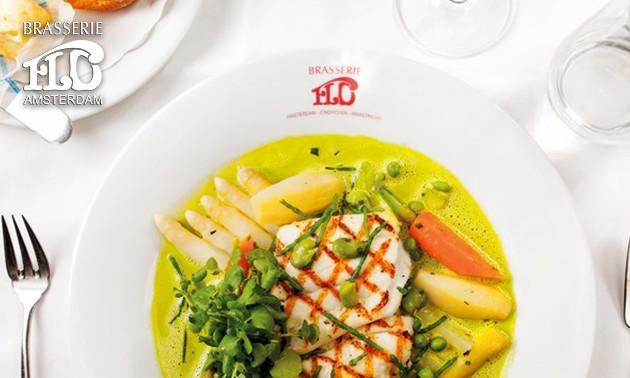 3-gangen keuzediner bij Brasserie FLO