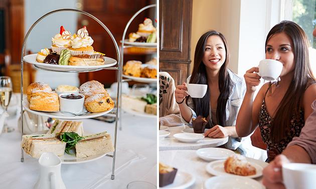 Afhalen: high tea bij Brasserie Het Keelven