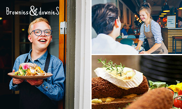 Luxe lunchplank bij Brownies&downieS Asten