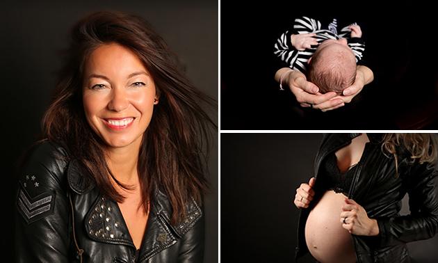 Portret- of newbornshoot  + 3 (digitale) afdrukken