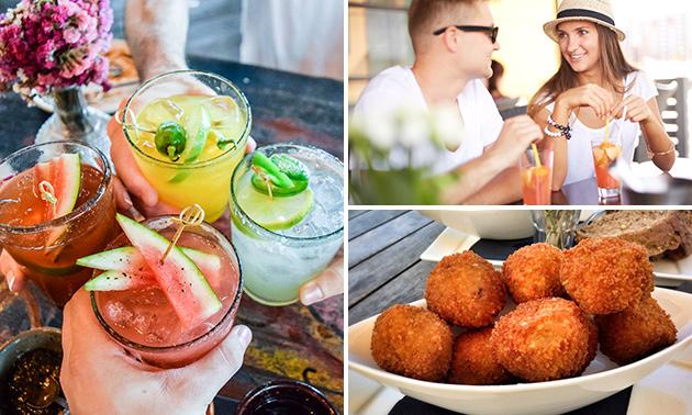 Cocktail + bittergarnituur