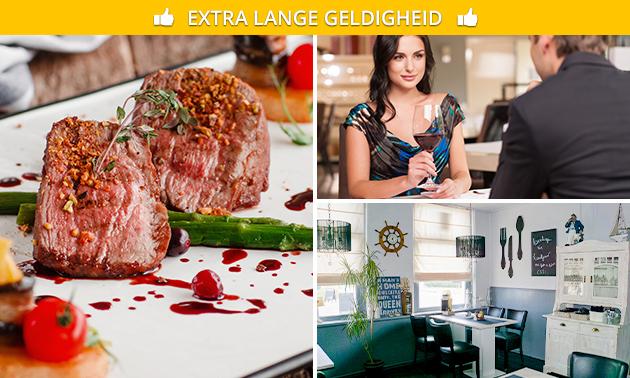 3-gangen keuzediner bij Café Restaurant 't Veerhuis