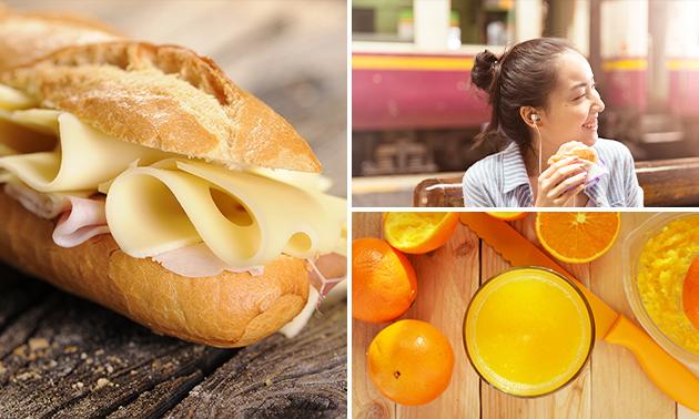 Afhalen: (luxe) lunchpakket