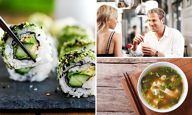 3-Gänge-Sushi-Menü bei California Sushi Bar