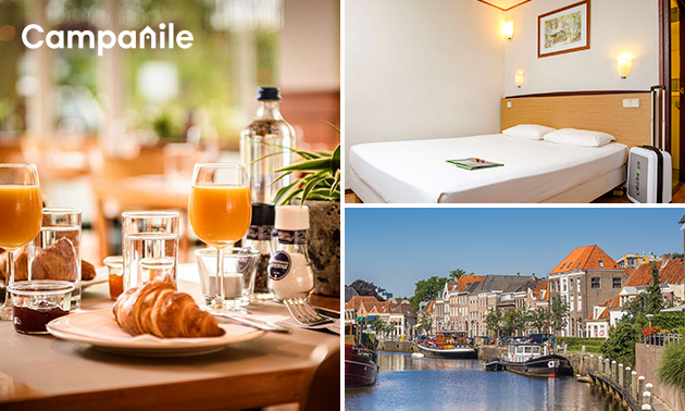 Overnachting voor 2 in Zwolle + ontbijt