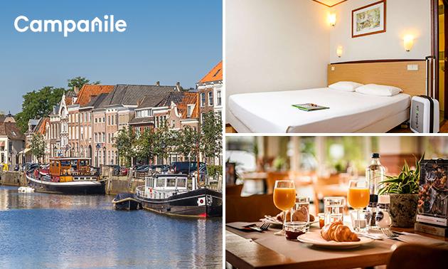 Übernachtung für 2 + Frühstück in Zwolle