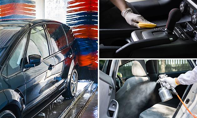Autowasbeurt of desinfectie bij Carwash Haaglanden