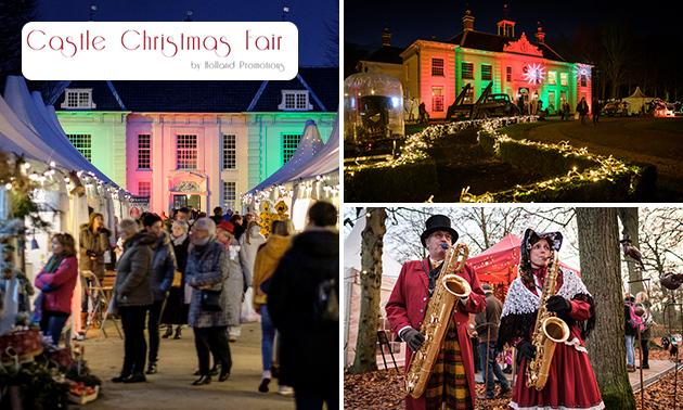 Entree kerstmarkt Castle Christmas Fair