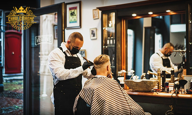 Haarschnitt oder Bartrasur-Paket