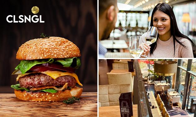 2-gangenlunch à la carte bij CLSNGL Food&Drinks
