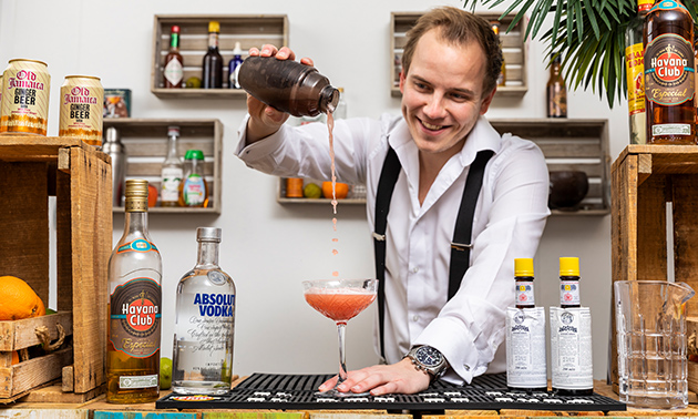 Gratis thuisbezorgd: cocktailworkshop