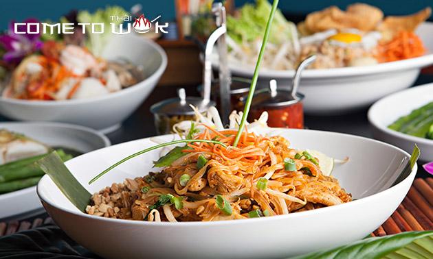 3-gangendiner (67 keuzes) bij Come To Thai Wok