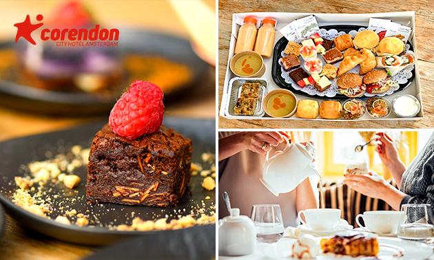 Afhalen: high tea van Corendon City Hotel