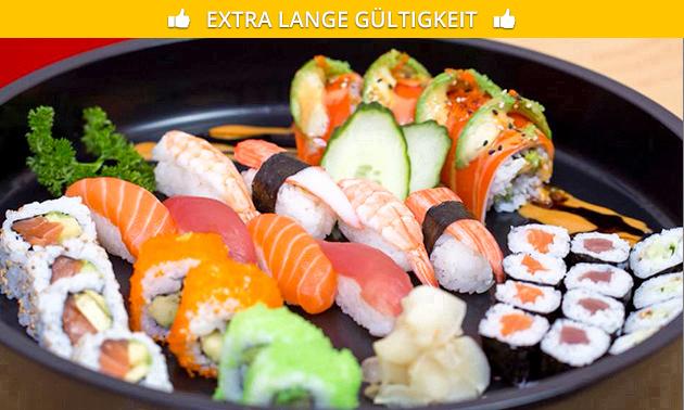 Zum Abholen: 2-Gänge-Menü nach Wahl von Crazy Sushi