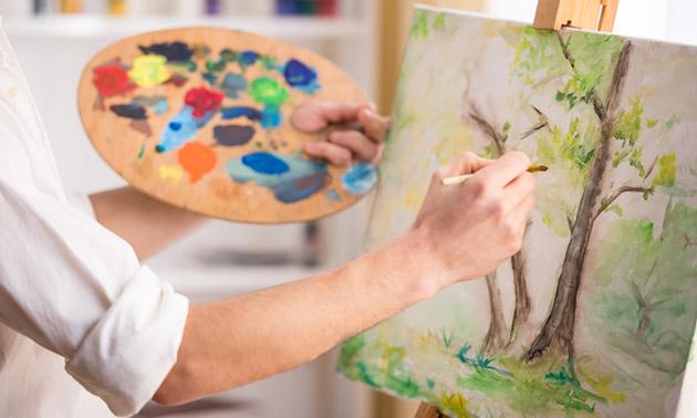 Workshop schilderen (2,5 uur)