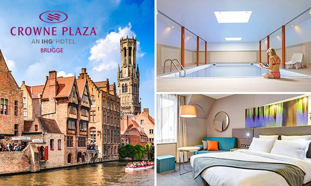 Overnachting voor 2 + ontbijt + parkeren in hartje Brugge