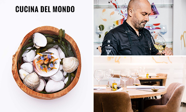 Cucina del Mondo, 6-Gänge-Michelindiner bei Cucina del Mondo: Spare ...