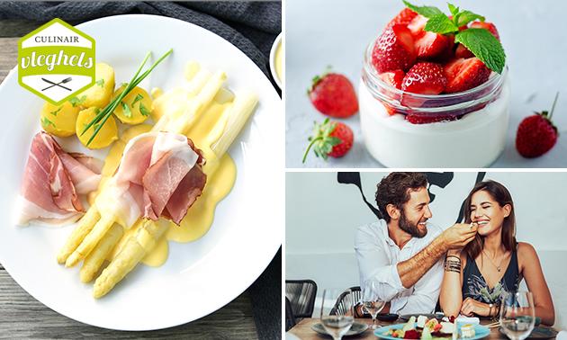 Thuisbezorgd: 3-gangendiner + prosecco van Culinair Vleghels