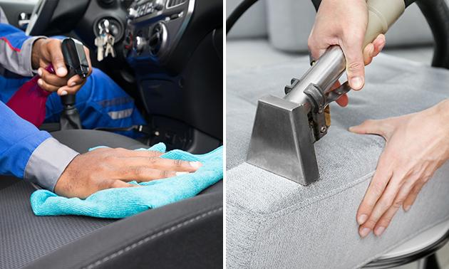 Dieptereiniging meubelstuk of autobekleding