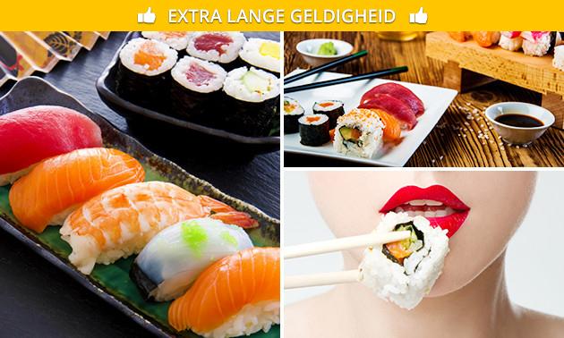 Afhalen: sushibox (12 of 32 stuks) bij Daisuki Sushi