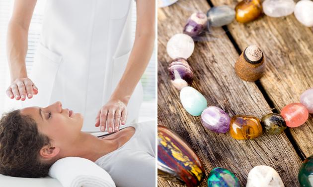 Reikibehandeling of healing