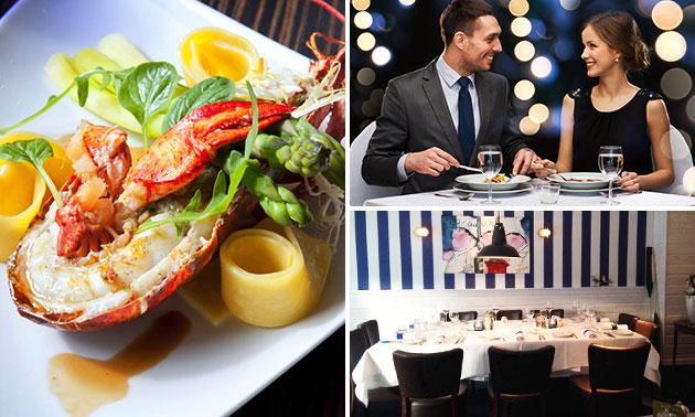 De Eetkamer Cuisine de la Mer, Culinair 4- of 5-gangendiner : Spare ...