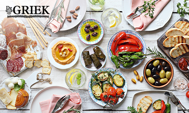 Grieks 3-gangen shared dining in hartje Gouda