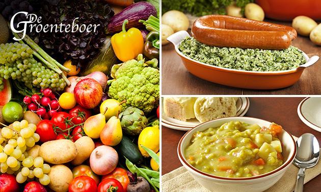 Waardebon voor vers fruit en groenten