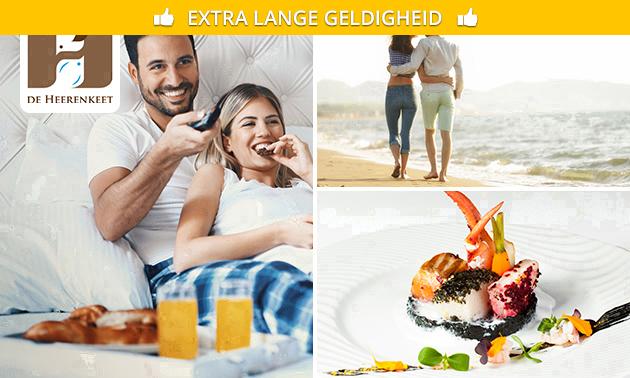 2 Übernachtungen in Zeeland + Menü für 2