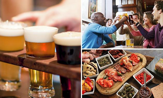 Bierproeverij + hapjes bij De Kat in de Stad