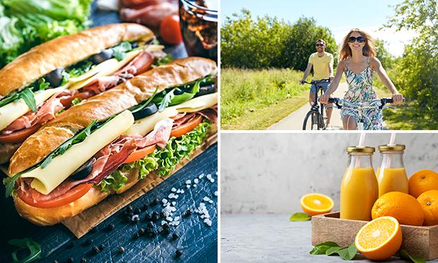 Wandel- of fietsarrangement + lunch to go