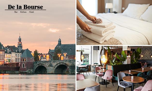 Hotelovernachting voor 2 + ontbijt in hartje Maastricht