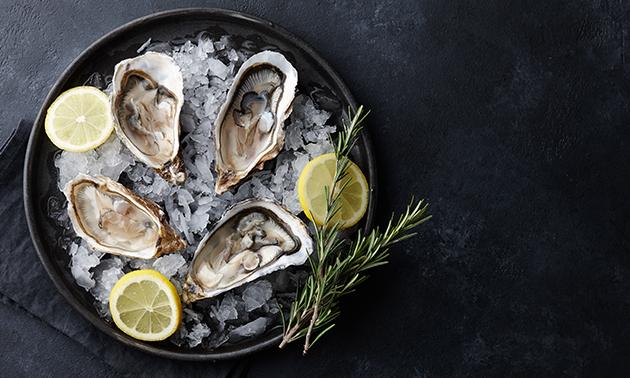 Afhalen: Tabl'eau oesters (6 of 12 stuks)