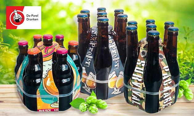 Thuisbezorgd of afhalen: bierproeverij
