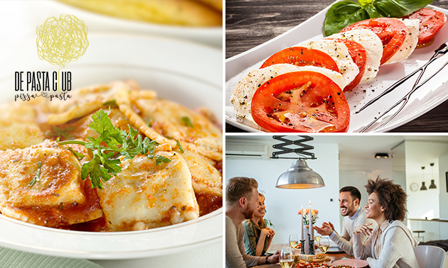 Thuisbezorgd of afhalen: Italian shared dining (11 gerechtjes)