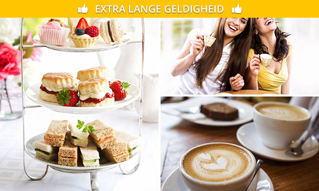 5-gangen high tea & coffee (2,5 uur) bij De Pulle