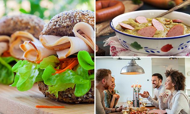 Afhalen: soep + broodje naar keuze bij De Raadskelder