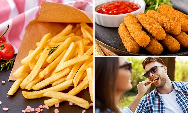 Afhalen: snackpakket (2-3 personen)
