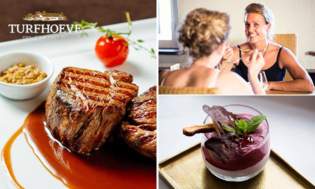 Gastronomisch 4- of 5-gangendiner bij De Turfhoeve