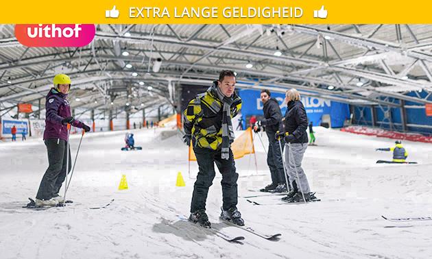 Vrij skiën of snowboarden bij De Uithof