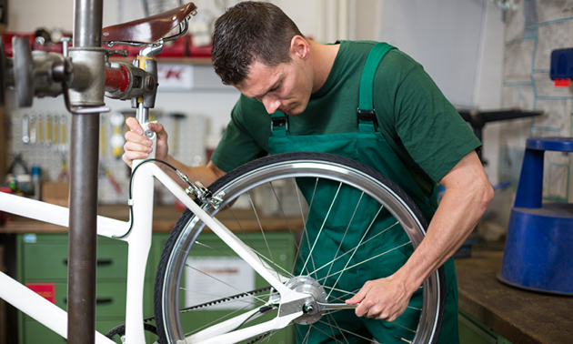 Complete onderhoudsbeurt voor je fiets