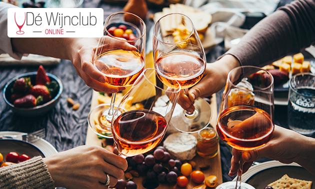 Wijnproeverij aan huis óf een waardebon voor wijn
