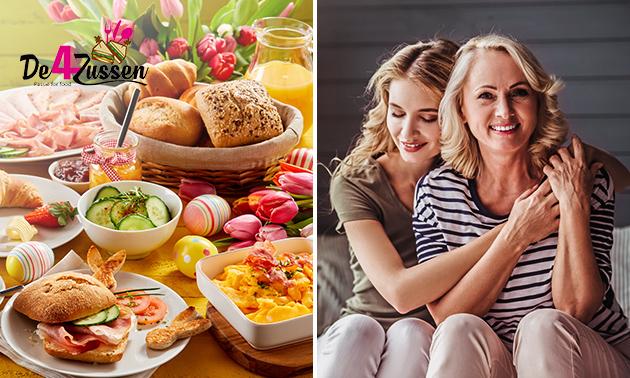 Thuisbezorgd of afhalen: moederdagbrunch voor 2