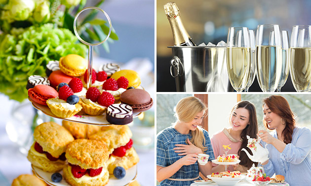 Luxe high tea + bubbels bij deKleineBaron